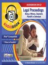Legal Proceedings (MP3): Being a Witness, Deponent, Plaintiff or Defendant