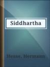 Siddhartha [eBook]