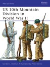 US 10th Mountain Division in World War II (eBook)