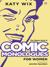 The Oberon Book of Comic Monologues for Women (eBook)