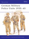German Military Police Units 1939-45 (eBook)