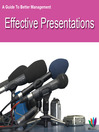 A Guide to Better Management Effective Presentations (eBook)