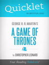 Quicklet on a Game of Thrones by George R. R. Martin (eBook)