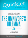 Quicklet on Michael Pollan's the Omnivore's Dilemma (eBook)