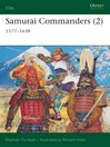 Samurai Commanders, Volume 2 (eBook): 1577-1638