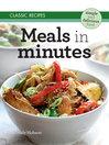 Classic Recipes (eBook): Meals in Minutes