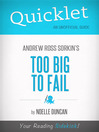 Quicklet on Too Big to Fail by Andrew Ross Sorkin (eBook)