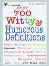 Over 700 Witty & Humorous Definitions (eBook)