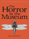 The Horror in the Museum (eBook): Collected Short Stories Volume Two