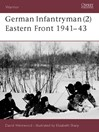 German Infantryman (2) Eastern Front 1941-43 (eBook)