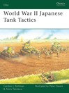 World War II Japanese Tank Tactics (eBook)
