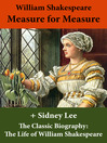 Measure for Measure and the Classic Biography (eBook): The Life of William Shakespeare