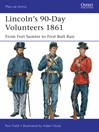 Lincoln's 90-Day Volunteers 1861 (eBook): From Fort Sumter to First Bull Run