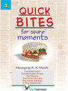 Quick Bites for Spare Moments (eBook)