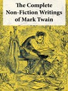 The Complete Non-Fiction Writings of Mark Twain (eBook)