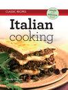 Classic Recipes (eBook): Italian Cooking