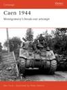 Caen 1944 (eBook): Montgomery's Break-Out Attempt