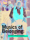 Musics of Belonging (eBook): The Poetry of Micheal O'Siadhail