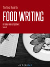 The Best Book on Food Writing (eBook)