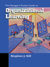The Managers Pocket Guide to the Learning Organization (eBook)