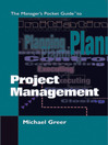 The Managers Pocket Guide to Project Management (eBook)