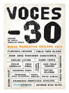 Voces 30 (eBook): Nueva Narrativa Chilena 2011