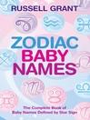 Zodiac Baby Names (eBook)