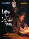 Letters from Lee's Army (MP3): Or Memoirs of Life in and Out of the Army in Virginia During the War Between the States