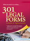301 Legal Forms, Letters & Agreements (eBook)