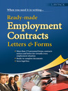 Ready-Made Employment Contracts, Letters & Forms (eBook)