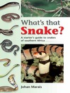 What's That Snake? (eBook)