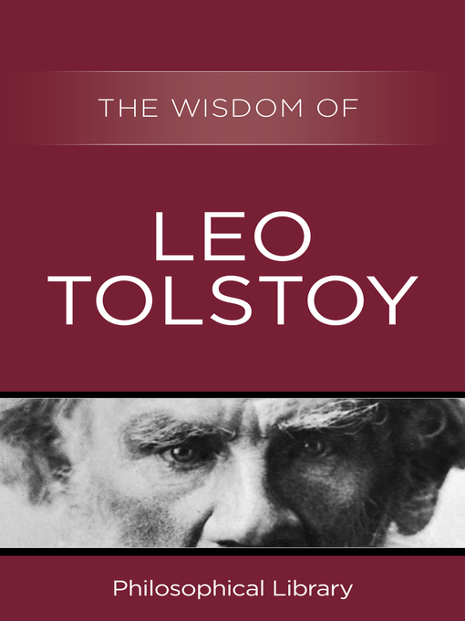 The Wisdom of Leo Tolstoy (eBook)