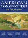 American Conservatism (eBook): An Encyclopedia