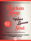 Chicken Soup for the Wine Lover's Soul (eBook): A Toast to the Perfect Occasion