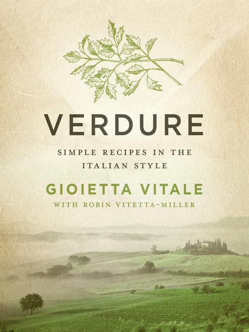 Verdure (eBook): Simple Recipes in the Italian Style