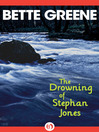 Drowning of Stephan Jones (eBook)
