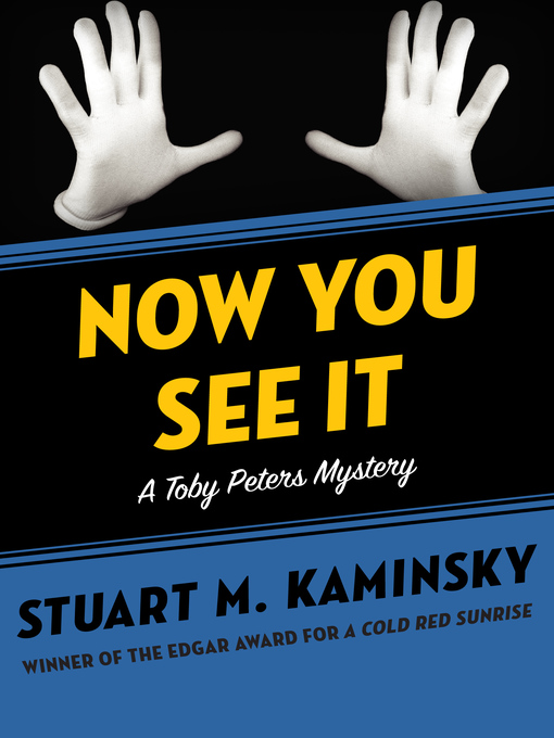Now You See It (eBook): Toby Peters Mystery Series, Book 24