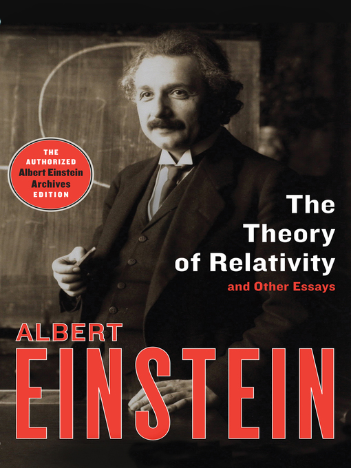 Theory of Relativity (eBook): and Other Essays