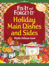 Fix-It and Forget-It Holiday Main Dishes and Sides (eBook)