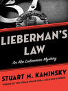 Lieberman's Law (eBook): Abe Lieberman Series, Book 5