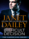 Difficult Decision (eBook): Americana Series, Book 7