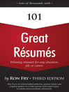 101 Great Résumés (eBook): Winning Résumés for Any Situation, Job, or Career (Third Edition)