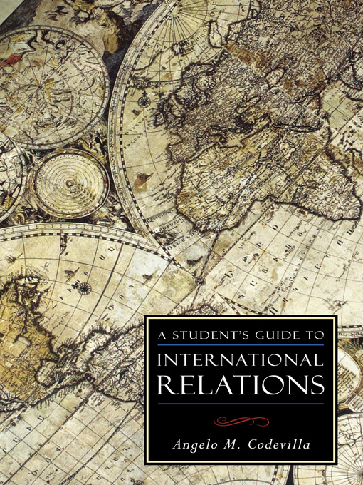 A Student's Guide to International Relations (eBook)