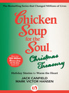 Chicken Soup for the Soul Christmas Treasury (eBook): Holiday Stories to Warm the Heart