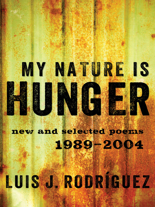 My Nature Is Hunger (eBook): New and Selected Poems: 1989–2004