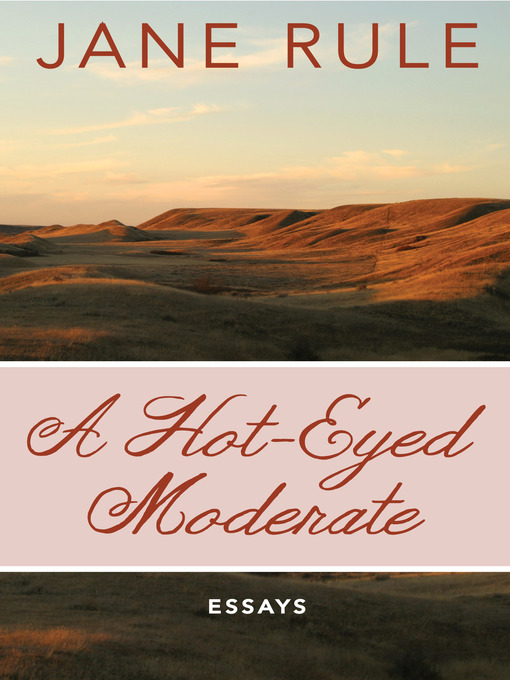 Hot-Eyed Moderate (eBook): Essays