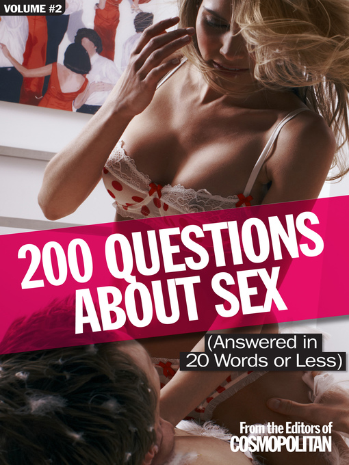 Cosmo's 200 Naughtiest Sex Questions 2 (eBook)