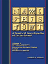 Name This Font - A Practical Encyclopedia of Letterforms (eBook): Volume 2: Uppercase Fonts - Decorative/Design/Display, Script, Blackletter/Uncial