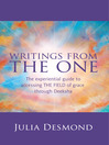 Writings from the ONE (eBook): The Experiential Guide to the Field of Grace through Deeksha