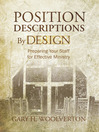 Position Descriptions By Design (eBook): Preparing Your Staff for Effective Ministry